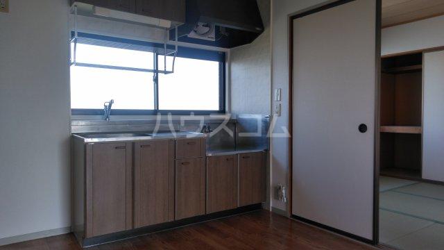 ビューグランドール A 201号室の洗面所
