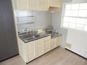 小川橋ハイツB 203号室のキッチン