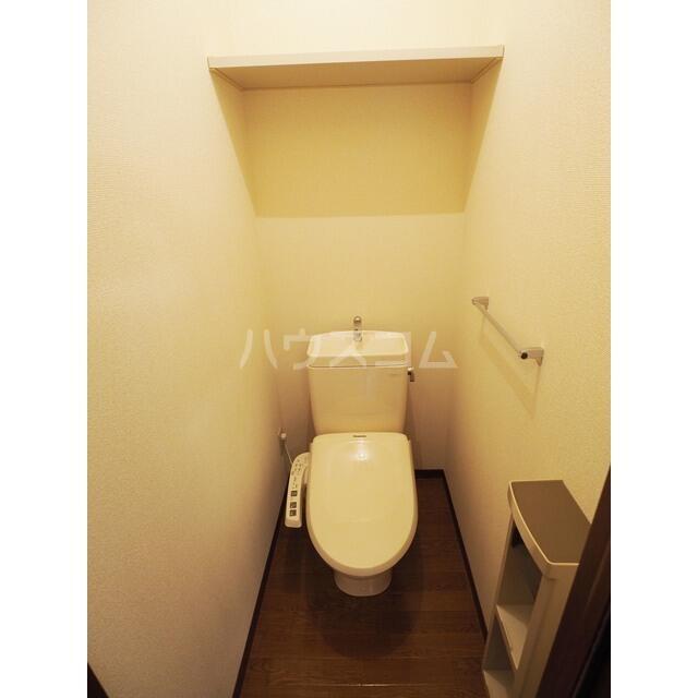ラ・フランス D 102号室のトイレ