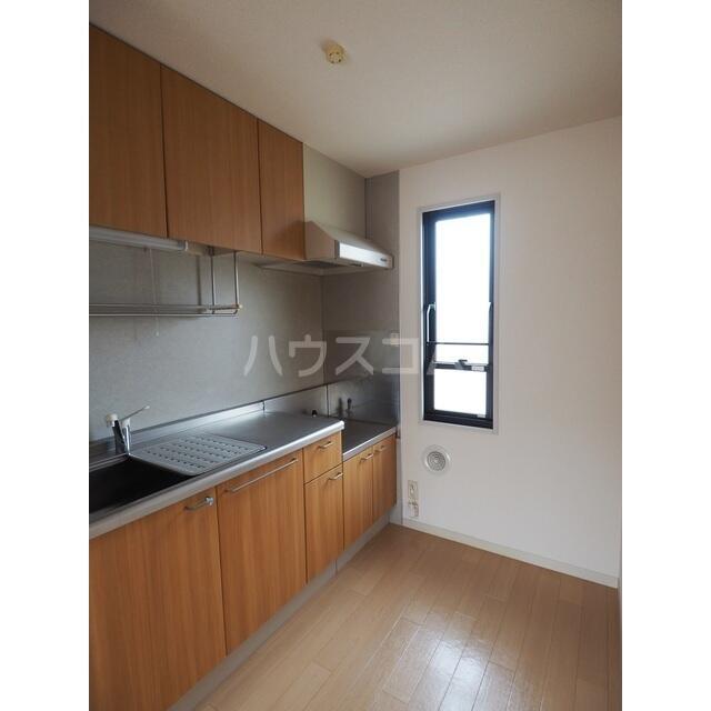 カルチェ C 201号室のキッチン