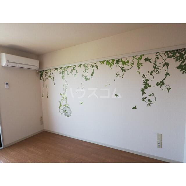 カルチェ C 201号室のベッドルーム