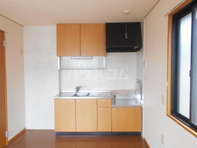 ポルトス元町 C 201号室のキッチン