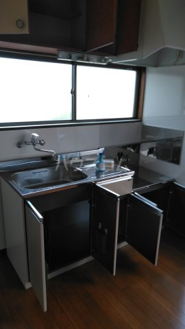 赤羽根荘 102号室のキッチン