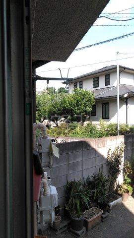 赤羽根荘 102号室のバルコニー