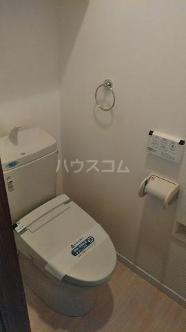 クローバーハウスB号棟のトイレ