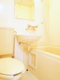 ハイツ共栄 103 103号室の洗面所