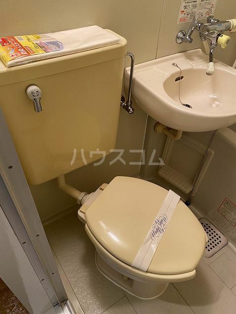 グローリアス 503号室のトイレ