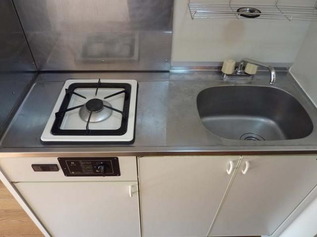 ルミエール白楽 202号室のキッチン
