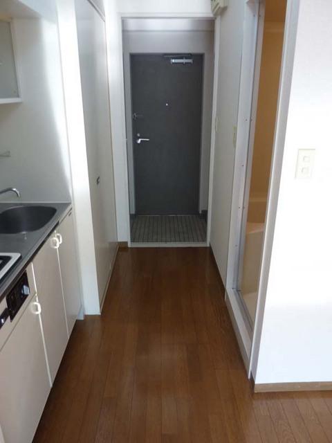ルミエール白楽 204号室の玄関