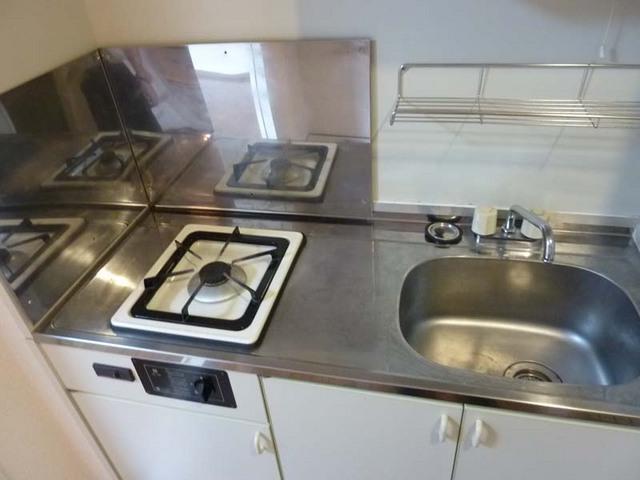 ルミエール白楽 501号室のキッチン