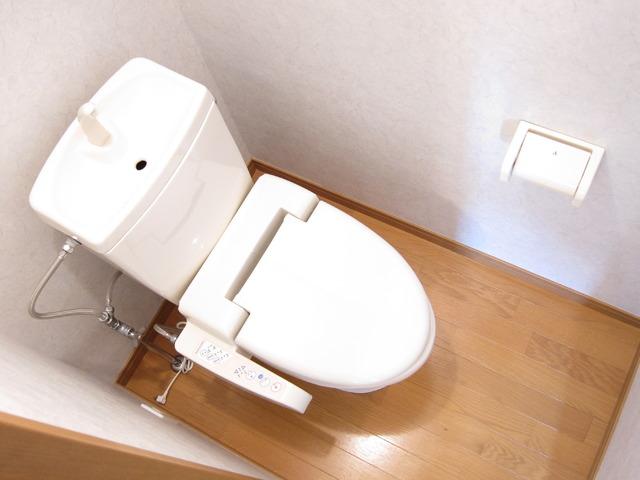 ポラリス 206号室のトイレ