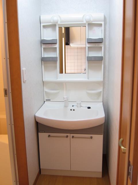 ポラリス 206号室の洗面所