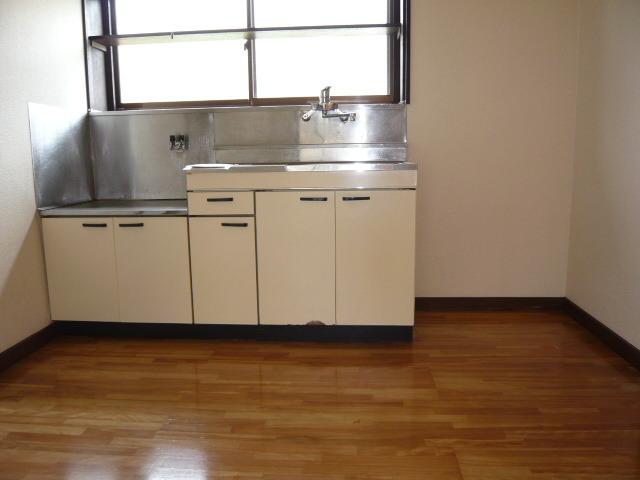 SKアパートメントのキッチン