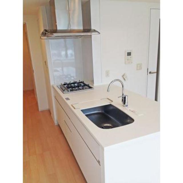 パークキューブ目黒タワー 602号室のキッチン