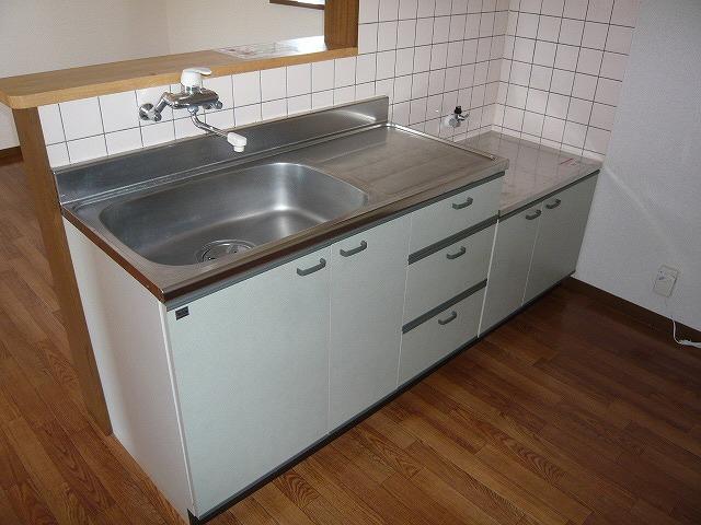 シャルマンコートD 101号室のキッチン