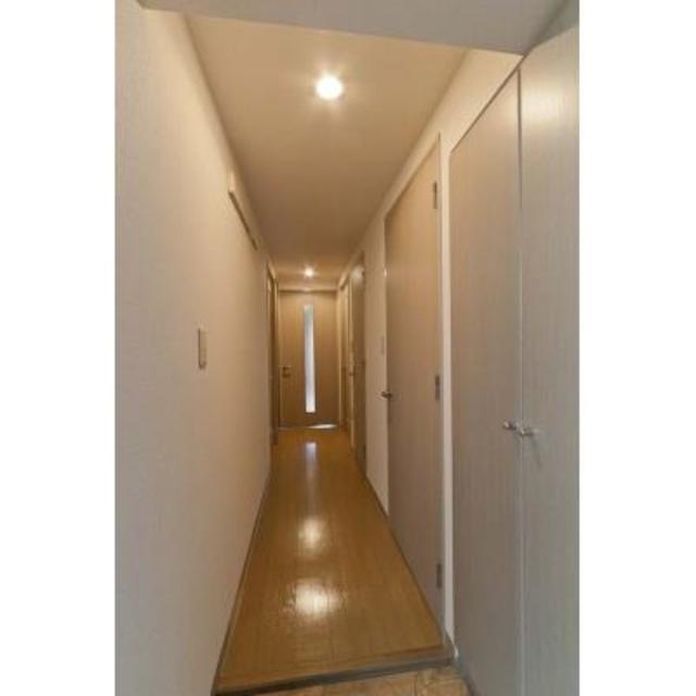 リューズ・リバー月島 504号室の玄関