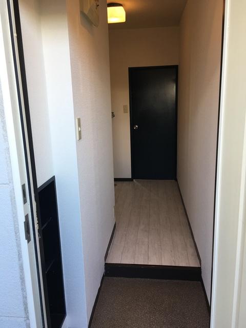 ドルフィン宮子 105号室の玄関
