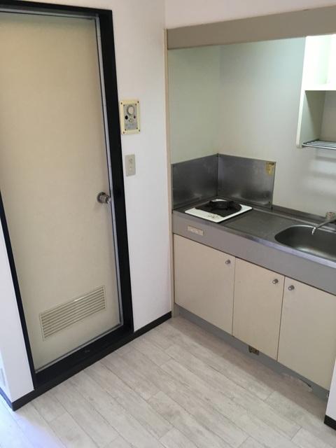 ドルフィン宮子 105号室のキッチン