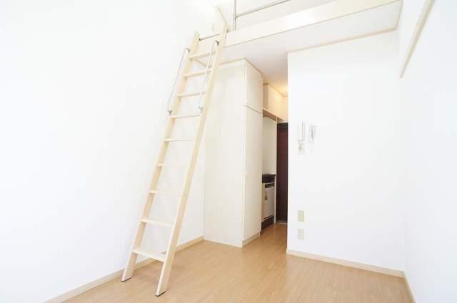 ピュアハウス松ケ丘二番館 205号室のリビング