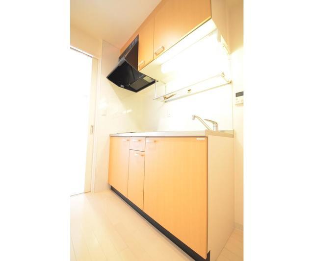 ロハス江坂 308号室のキッチン
