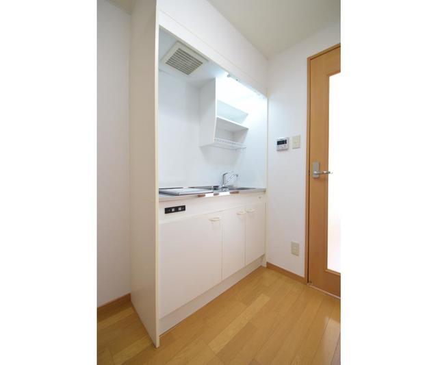 ブドワール21 306号室のキッチン
