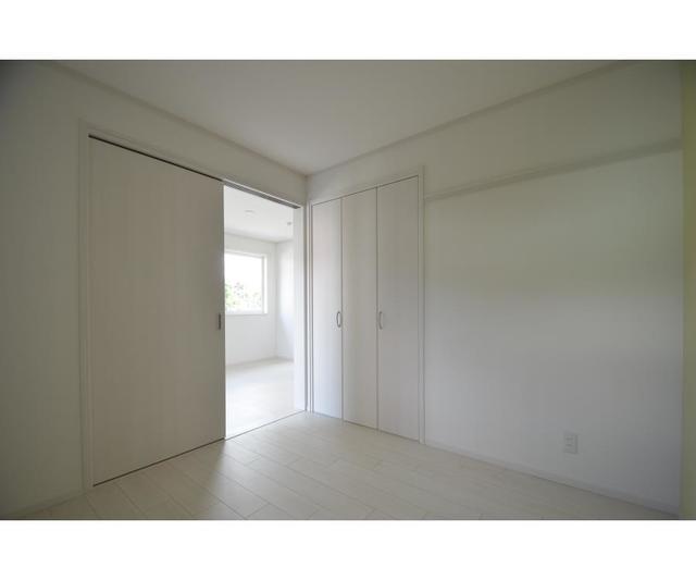 グレイス 201号室のベッドルーム