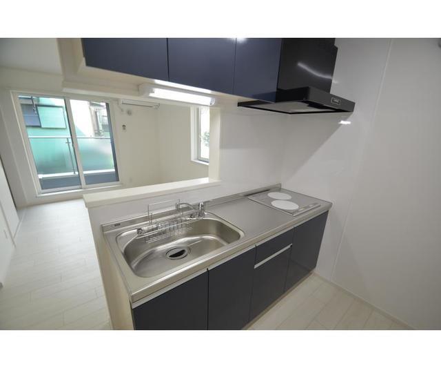 グレイス 201号室のキッチン