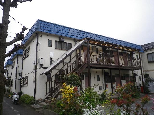 サンハウス松本B B101号室の外観