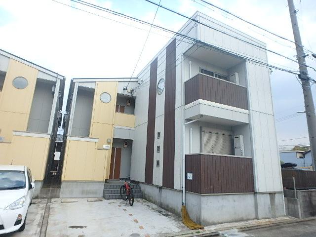 クレフラスト広川A棟外観写真