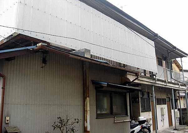 千代松荘 102号室の外観