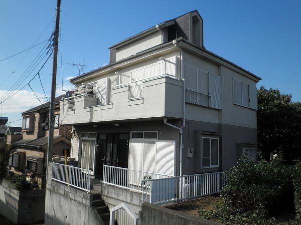 上新井テラスハウス外観写真