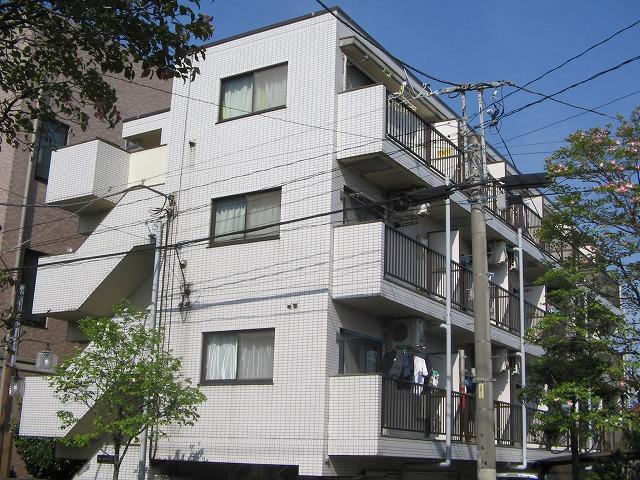 国立矢川マンション外観写真