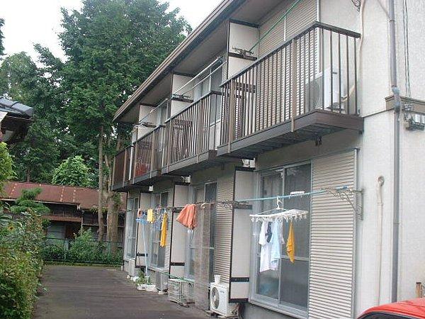 青清ハイツC 201号室の外観