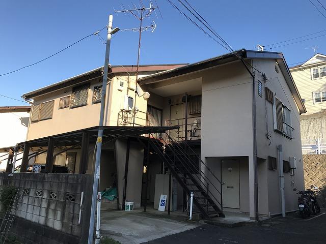 九十九沢アパート外観写真