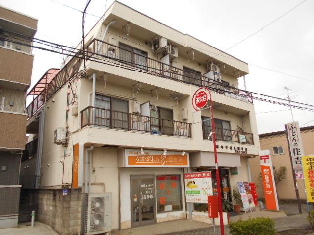 中河原郵便局ビル外観写真