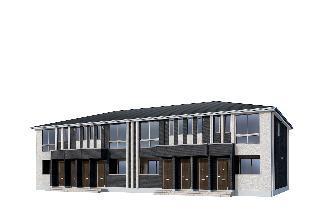 新作新築アパート 203号室の外観