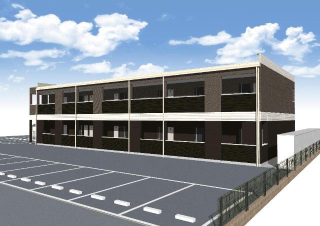 (仮称)千葉市中央区今井新築アパート外観写真