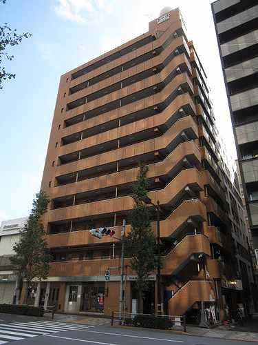 ライオンズマンション八丁堀 606号室の外観