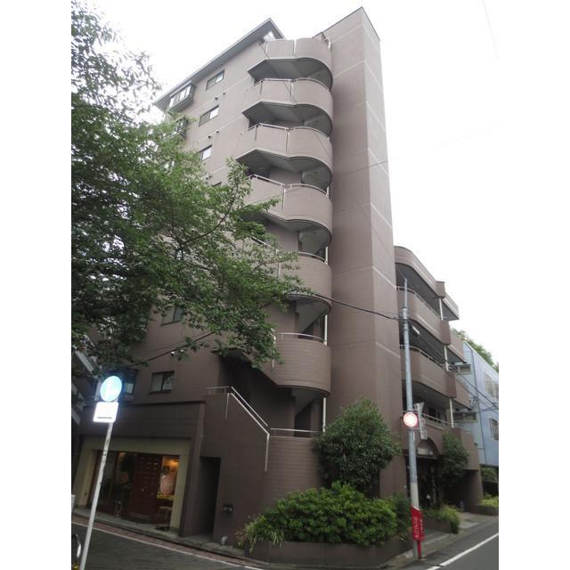 ヴィラ・ハーモニー目黒川外観写真