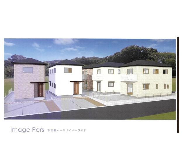 (仮称)豊橋市牟呂町松島東新築計画C棟外観写真