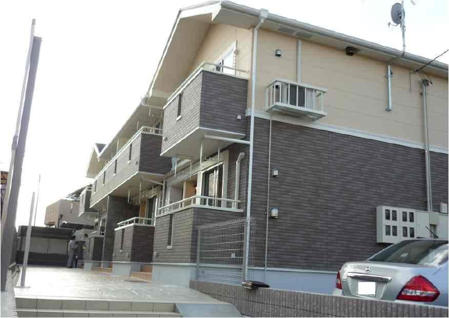 富野北角アパート外観写真