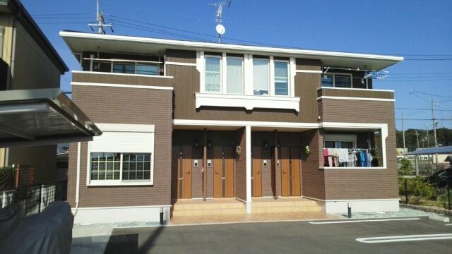 山城町平尾アパート外観写真