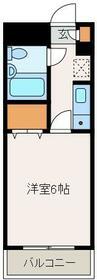 ベルエア-南長崎 202号室の外観
