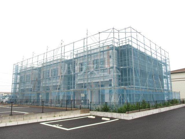 木更津市高柳新築アパート外観写真