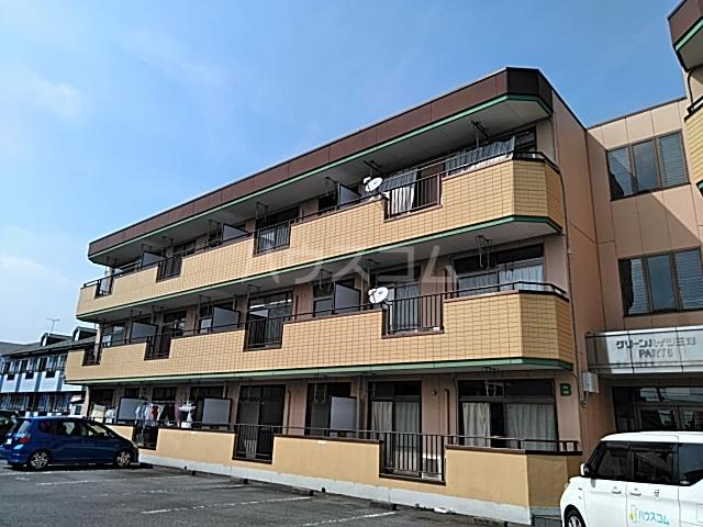 グリーンハイツ三澤パート6 B201号室の外観