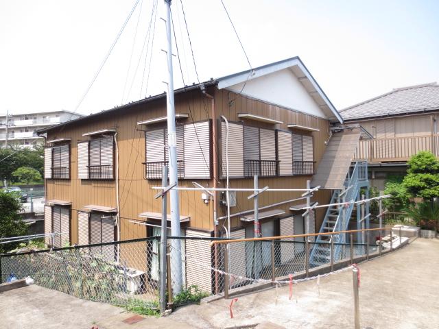 末広荘 201号室の外観