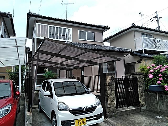 福岡借家の外観