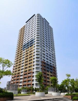 百道タワー外観写真