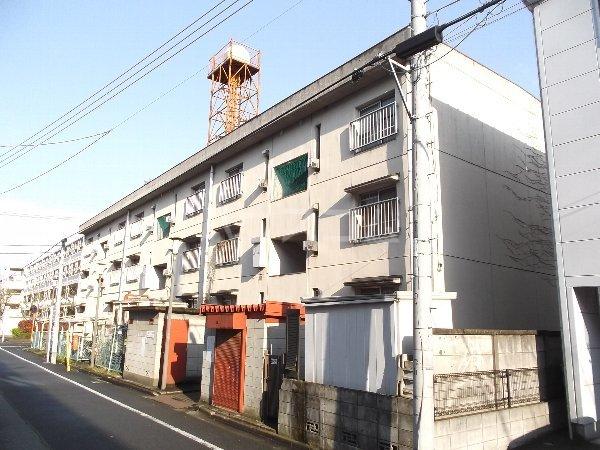 綾瀬マンションA棟外観写真