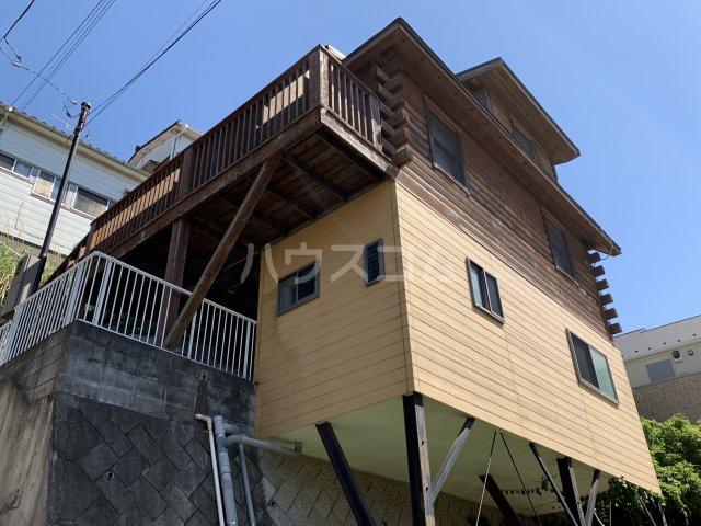 西竹之丸戸建 スウェーデン式ログハウス外観写真